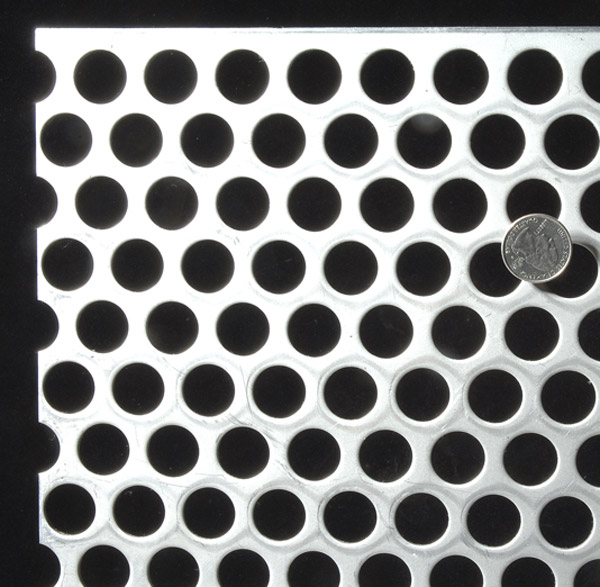 Round-hole-perforated-metal
